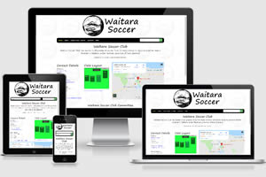 Screen shot WaitaraSoccer.co.nz